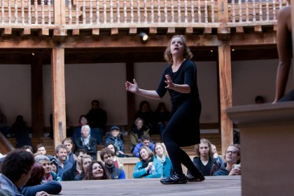 Shakespeare's Globe International Actors' Fellowship 2015 performance